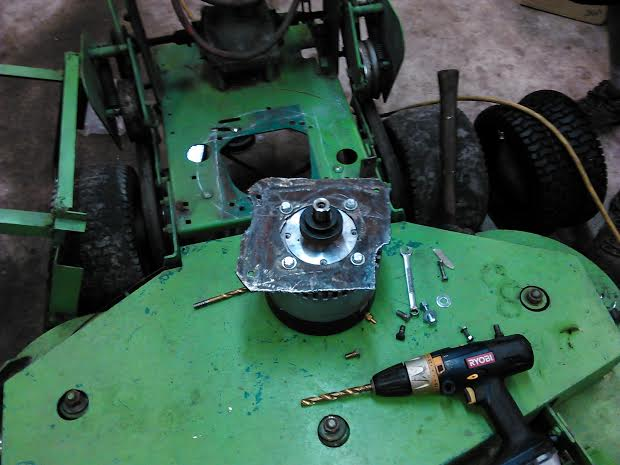 Adapter Plate for New Motor