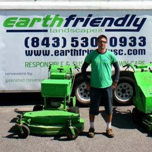 Ad for Lawn Service Justin